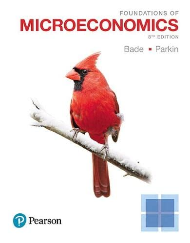 9780134491981: Foundations of Microeconomics (8th Edition)