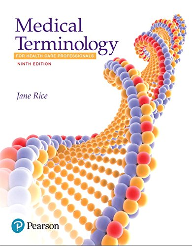 9780134495347: Medical Terminology for Health Care Professionals (9th Edition)