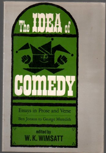 9780134495385: Title: Idea of Comedy Essays In Prose and Verse