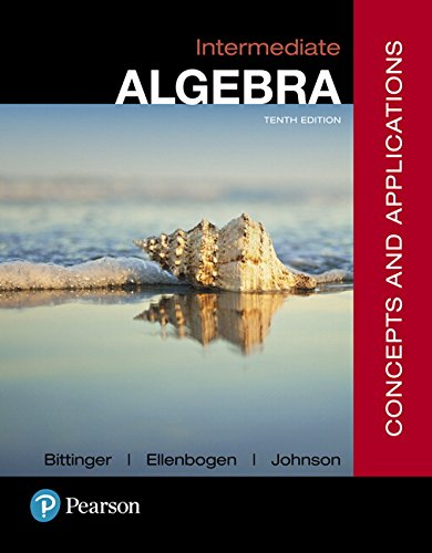 9780134497174: Intermediate Algebra: Concepts and Applications (10th Edition)