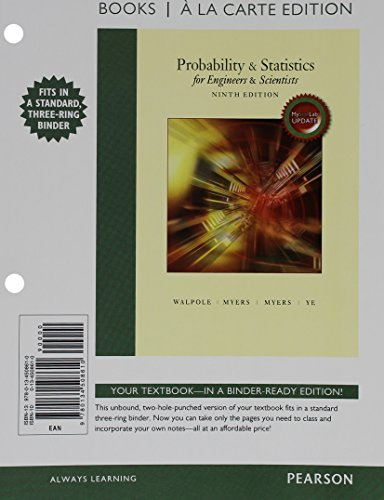 9780134507248: Probability & Statistics for Engineers & Scientists: MyStatLab Update