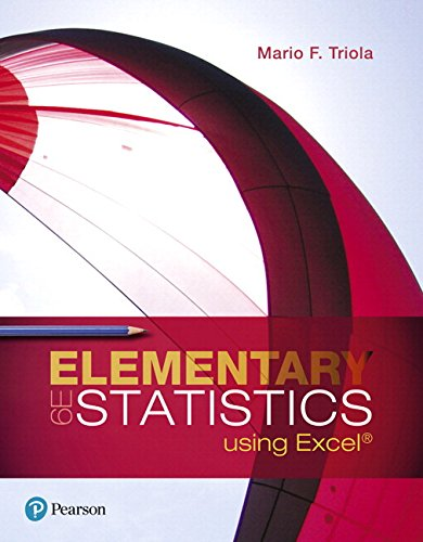 9780134508085: Elementary Statistics Using Excel Plus NEW MyStatLab with Pearson eText -- Access Card Package (6th Edition)