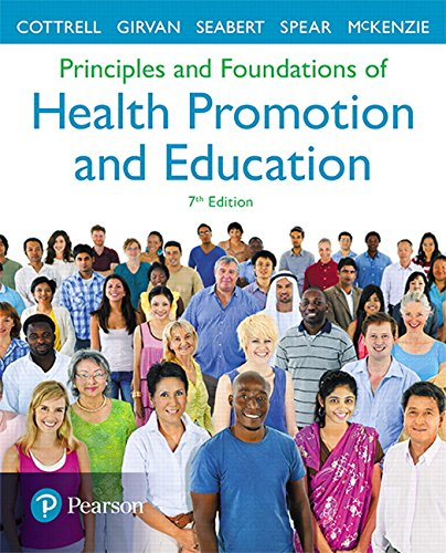9780134517650: Principles and Foundations of Health Promotion and Education (7th Edition) (A Spectrum book)
