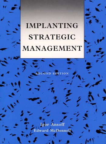 9780134518817: Implanting Strategic Management