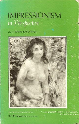 9780134520377: Impressionism in perspective (The artists in perspective series)