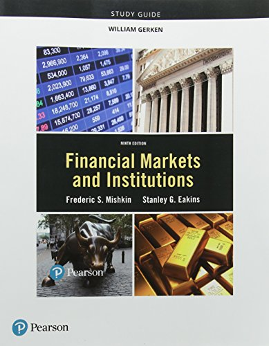 9780134520407: Study Guide for Financial Markets and Institutions
