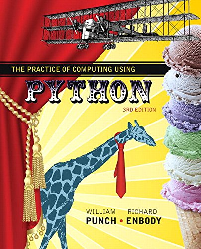 9780134520513: Practice of Computing Using Python Plus MyLab Programming with Pearson eText, The -- Access Card Package (3rd Edition)