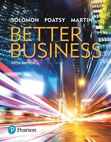 9780134522746: Better Business (5th Edition)