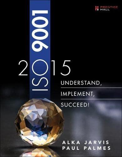9780134524436: ISO 9001: 2015: Understand, Implement, Succeed!