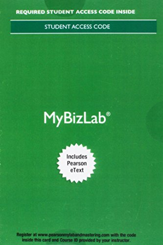 9780134527871: MyLab Intro to Business with Pearson eText -- Access Card -- for Better Business