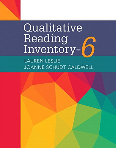 9780134539409: Qualitative Reading Inventory-6, with Enhanced Pearson eText -- Access Card Package (6th Edition) (What's New in Literacy)