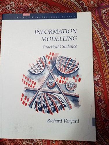9780134541822: Information Modelling (BCS Practitioner Series)