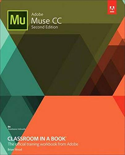 9780134547275: Adobe Muse Cc Classroom in a Book 2e