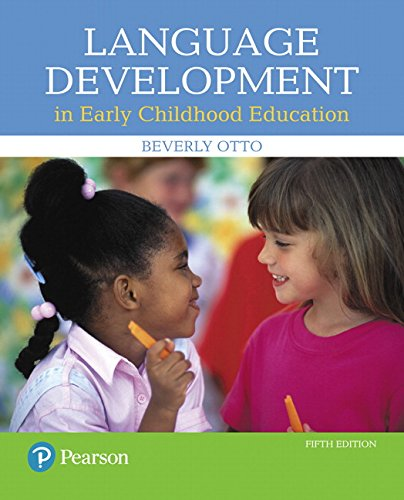9780134552620: Language Development in Early Childhood Education (5th Edition)