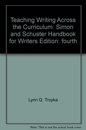 Teaching writing across the curriculum: Gebhard, Ann O