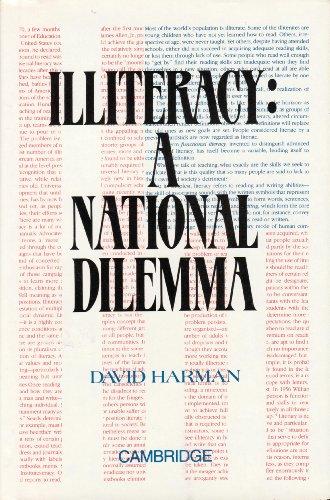 9780134557199: Illiteracy: A National Dilemma