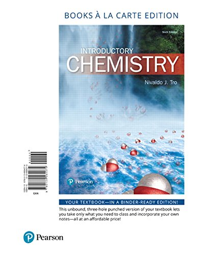 9780134564074: Introductory Chemistry, Books a la Carte