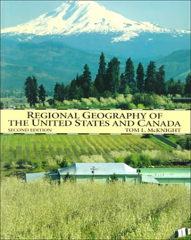 9780134564845: Regional Geography of the United States and Canada