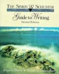 9780134565750: Simon & Schuster Guide to Writing: Full Edition