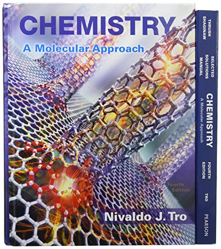 chemistry a molecular approach with masteringchemistry access code 2nd edition masteringchemistry series