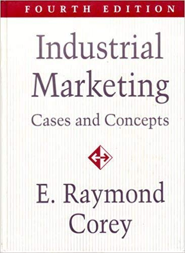 9780134568317: Industrial Marketing: Cases and Concepts