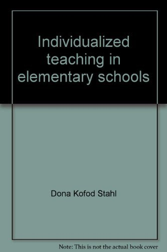 9780134570365: Individualized teaching in elementary schools