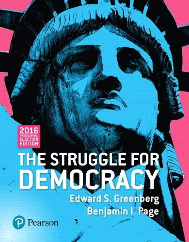 9780134571706: The Struggle for Democracy, 2016 Presdential Election Edition