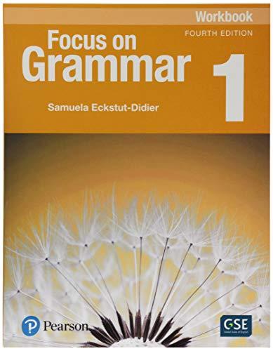 9780134579375: Focus on Grammar 1 Workbook