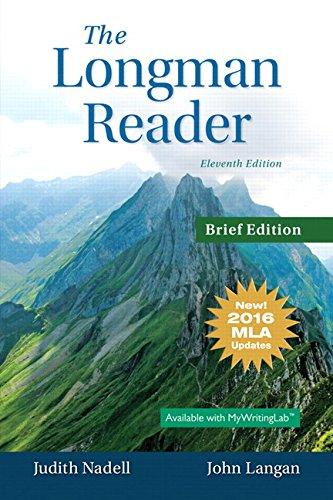 Longman reader: books a la carte edition, 2016 mla: target.