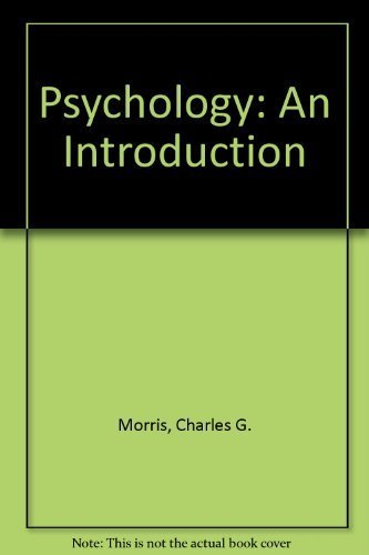 9780134586472: Psychology: An Introduction