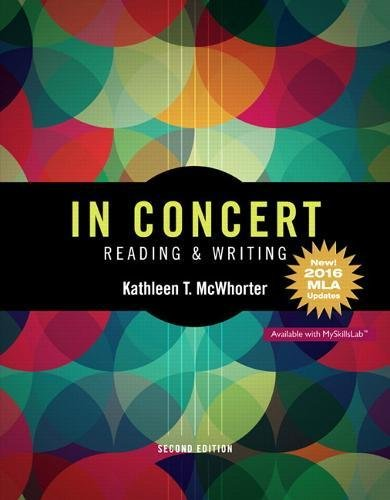 9780134590882: In Concert: An Integrated Approach to Reading and Writing, MLA Update (2nd Edition)