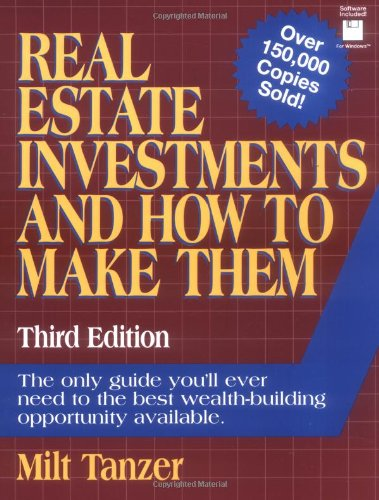 9780134597775: Real Estate Investments and How to Make Them