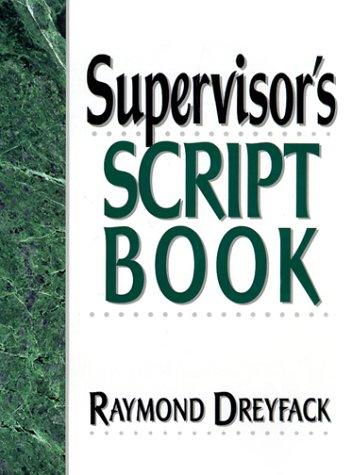 9780134601144: Supervisor's Script Book