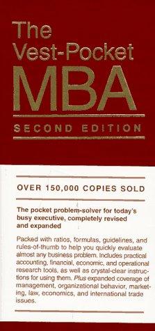 9780134603124: The Vest-Pocket MBA (Vest-pocket series)
