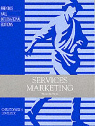 9780134613772: Services Marketing: Text, Cases and Readings (Prentice Hall International Editions)
