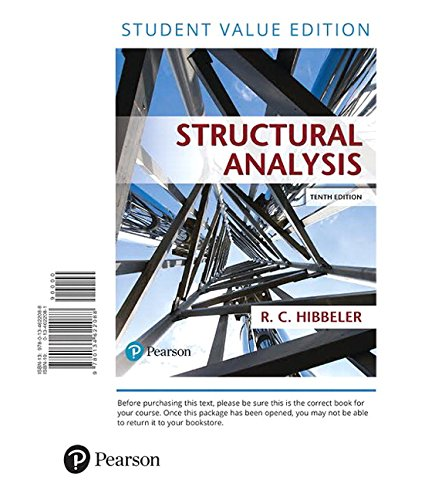 9780134622088: Structural Analysis, Student Value Edition (10th Edition)