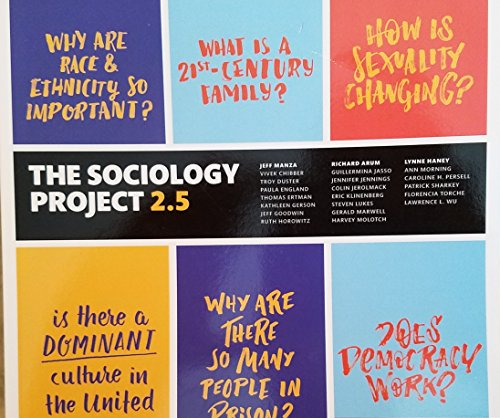 9780134631950: The Sociology Project 2.5: Introducing the Sociological Imagination (2nd Edition)