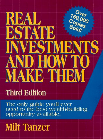 9780134633817: Real Estate Investments and How to Make Them