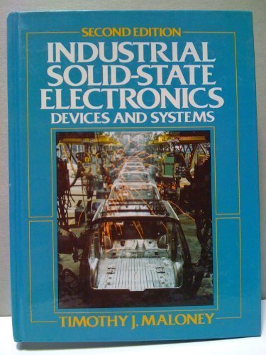 9780134634234: Industrial Solid-State Electronics: Devices and Systems
