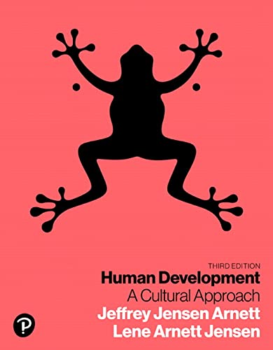 9780134641348: Human Development: A Cultural Approach (3rd Edition)