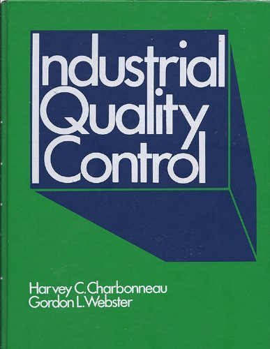 9780134642550: Industrial Quality Control
