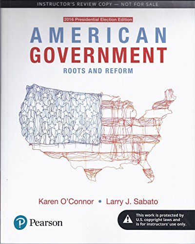 9780134643762: American Government. Roots and Reform