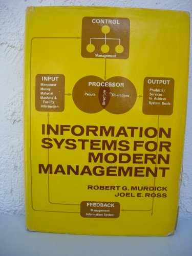 9780134645032: Information Systems for Modern Management