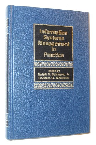 9780134649344: Information Systems Management in Practice