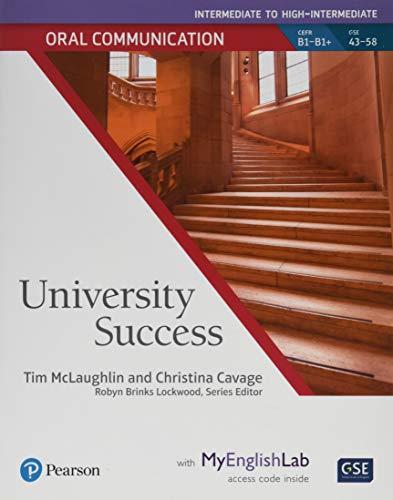 9780134652719: University Success Oral Communication 2 Student Book + Myenglishlab