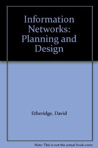 9780134654027: Information Networks Planning and Design