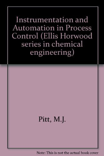 9780134659497: Instrumentation and Automation in Process Control (Ellis Horwood Series in Chemical Engineering)