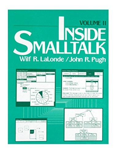 9780134659640: Inside Smalltalk: v. 2