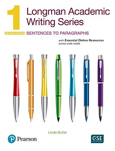 Longman Academic Writing Series 1: Sentences to Paragraphs, 2nd Edition