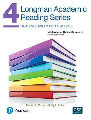 Longman Academic Reading Series 4 SB W/Online: Cohen